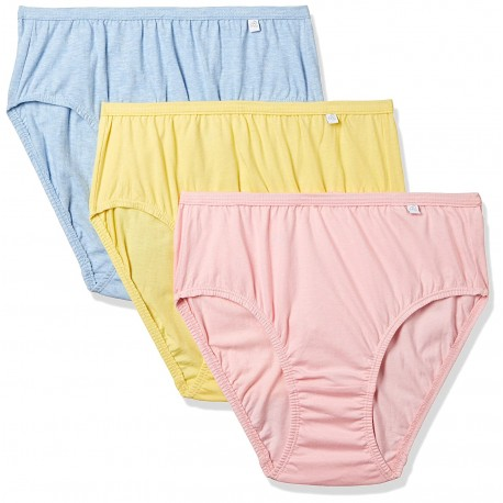 Jockey Women's Hipster (Pack of 3) (1406_Light Assorted_M)(color may vary)