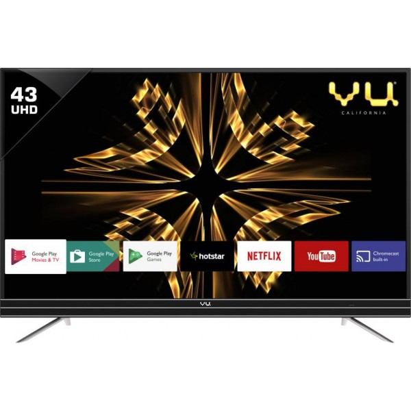 Vu Android 109cm (43 inch) Ultra HD (4K) LED Smart TV  (43SU128)