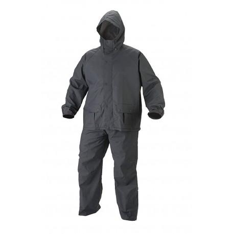 BENJOY Bike/Scooter Water Proof Rain Suit with Hood-Black