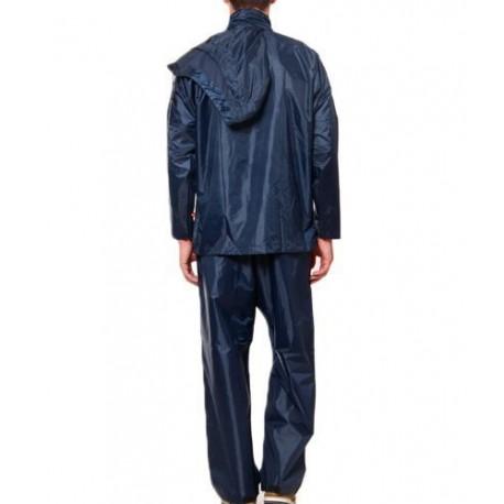 BENJOY Storm Breaker Complete Rain Suit with Carry Bag Raincoat (Blue)