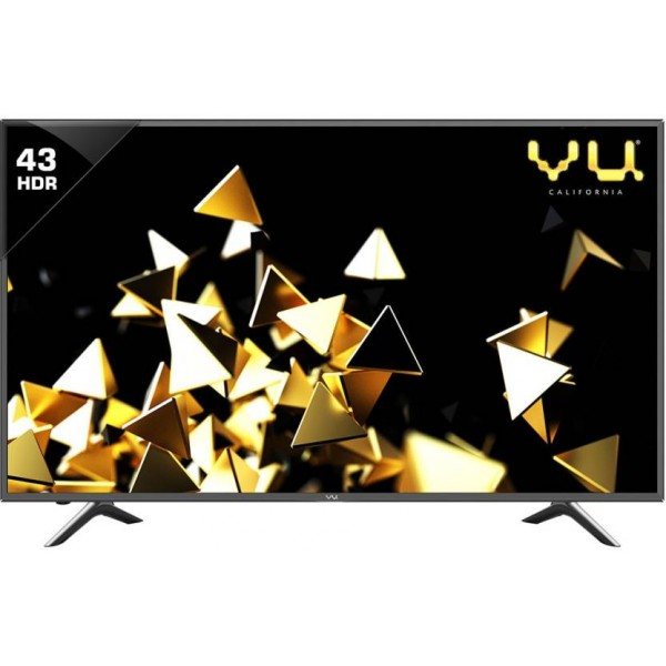 Vu 108cm (43 inch) Ultra HD (4K) LED Smart TV  (9043U)