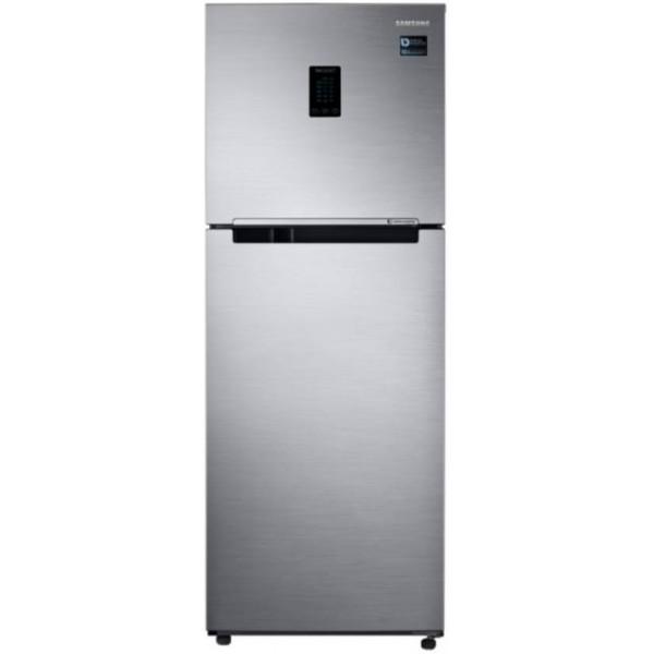 Samsung 324 L Frost Free Double Door 3 Star Refrigerator  (Elegant Inox, RT34M5538S8/HL)