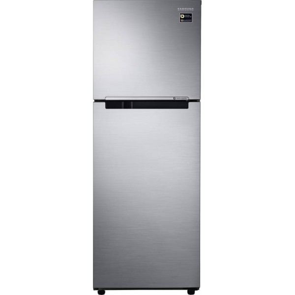 Samsung 253 L Frost Free Double Door 2 Star Refrigerator  (Elegant Inox, RT28M3022S8-HL/ RT28M3022S8-NL)