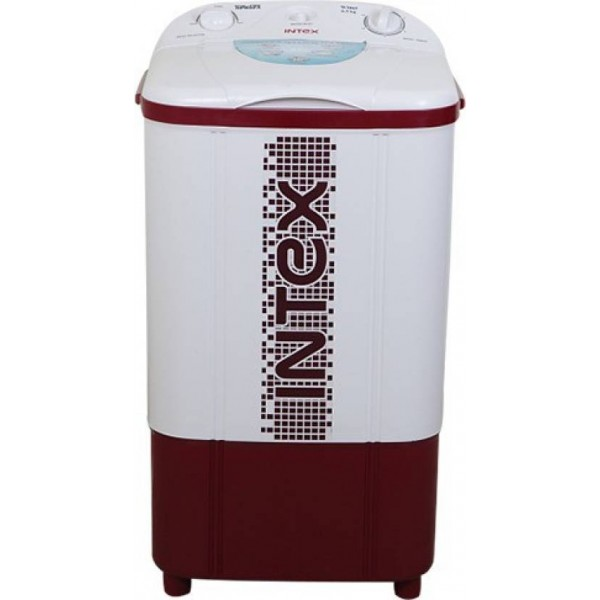 Intex 6.5 kg Semi Automatic Top Load Washer Only Red  (WM65)