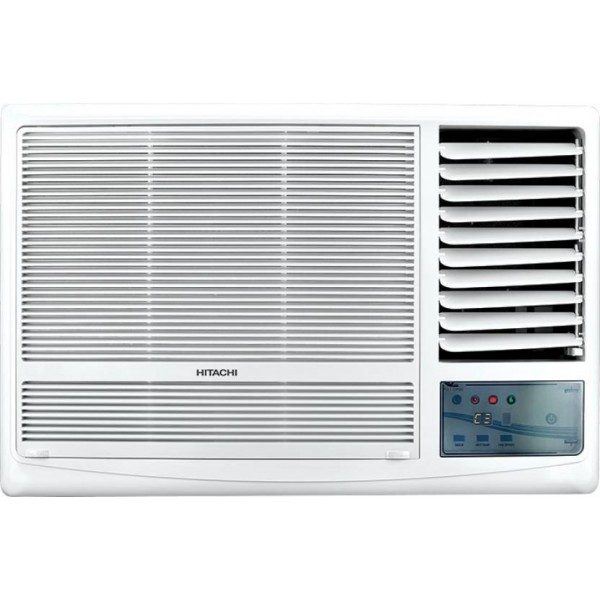 Hitachi 1.5 Ton 5 Star BEE Rating 2018 Window AC - White  (RAW518KUDZ1, Copper Condenser)