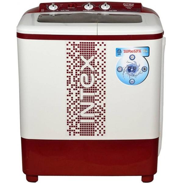 Intex 6.2 kg Semi Automatic Top Load Washing Machine Maroon  (WMS62TL)