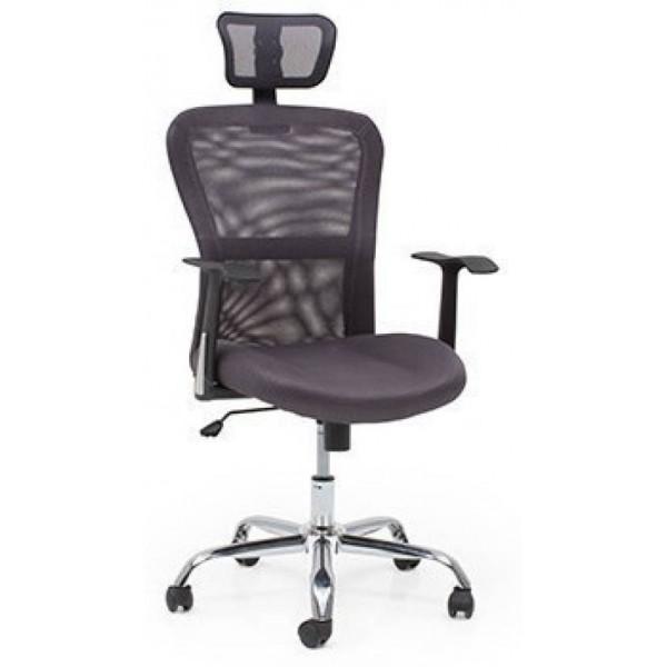 Urban Ladder Venturi Fabric Study Arm Chair  (Grey)