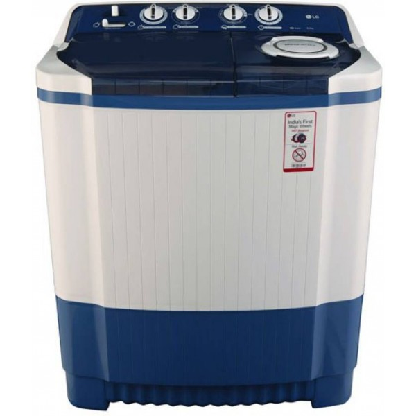 LG 8 kg Semi Automatic Top Load Washing Machine Blue  (P9037R3SM)