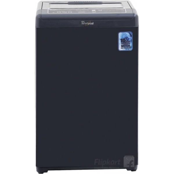 Whirlpool 6.5 kg Fully Automatic Top Load Washing Machine Grey  (WHITEMAGIC PREMIER 6.5 Grey)