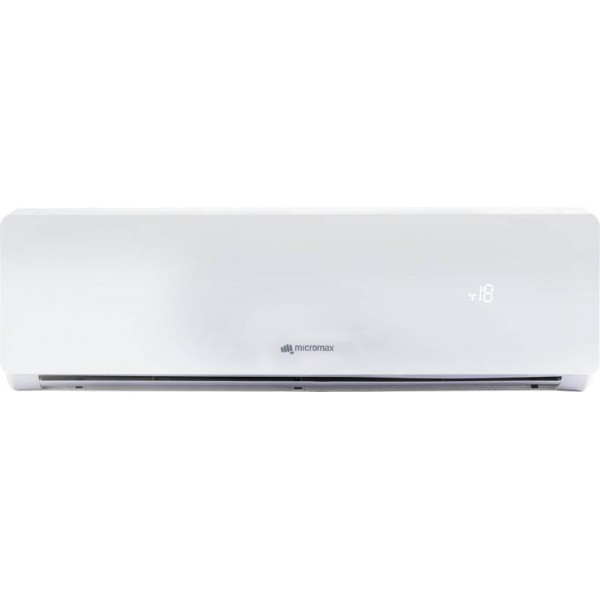 Micromax 1.5 Ton 5 Star BEE Rating 2017 Split AC - White  (ACS18ED5AS02WHI, Aluminium Condenser)