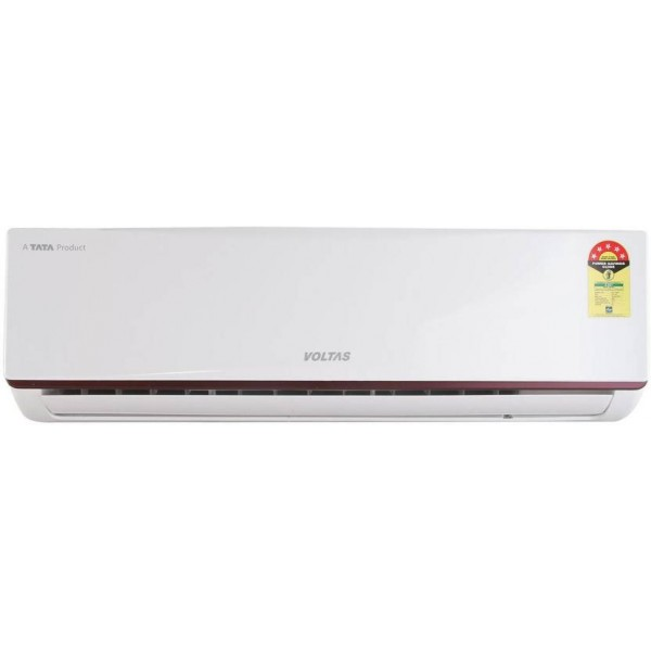 Voltas 1.5 Ton 5 Star BEE Rating 2017 Split AC - White  (185JY, Aluminium Condenser)