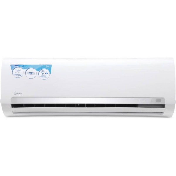 Midea 1 Ton 3 Star BEE Rating 2018 Split AC - White  (12K Santis Pro - MAS12SP3C8F0, Copper Condenser)