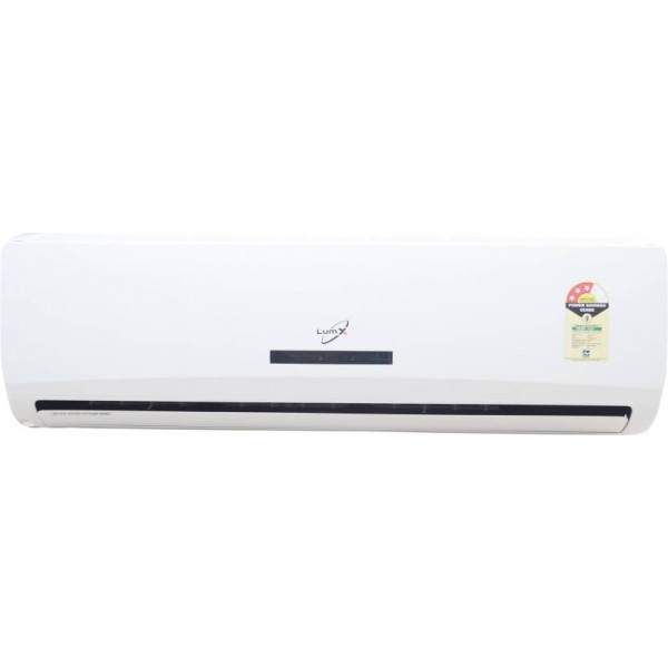 LumX 1.5 Ton 3 Star BEE Rating 2018 Split AC - White  (LX183VPFZ, Aluminium Condenser)