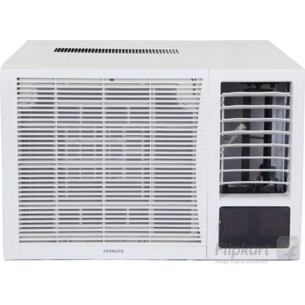 Hitachi 1.5 Ton 3 Star BEE Rating 2018 Window AC - White  (RAW318KXDAI, Copper Condenser)