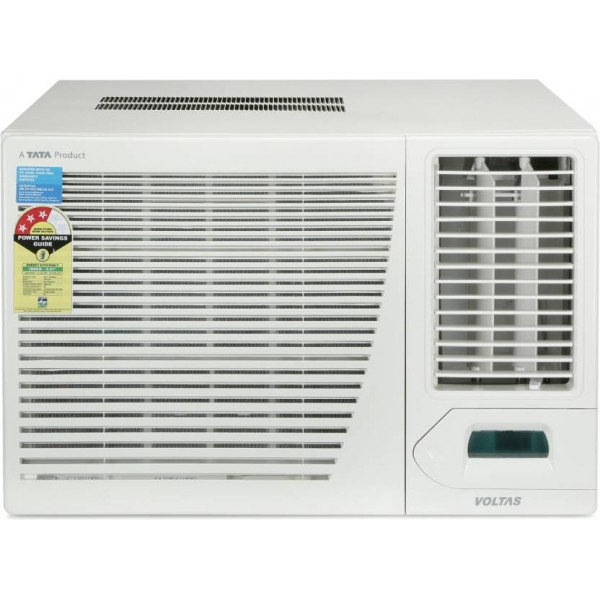 Voltas 1.5 Ton 3 Star BEE Rating 2018 Window AC - White  (183CZP, Copper Condenser)
