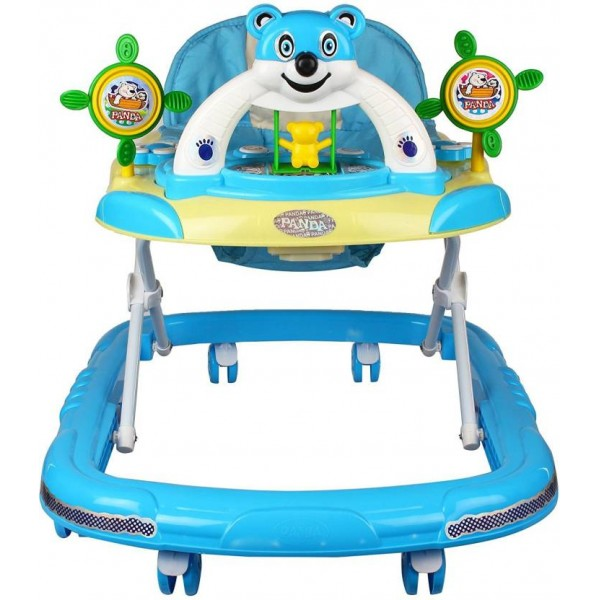 Pandaoriginals Musical Activity Walker  (Blue)