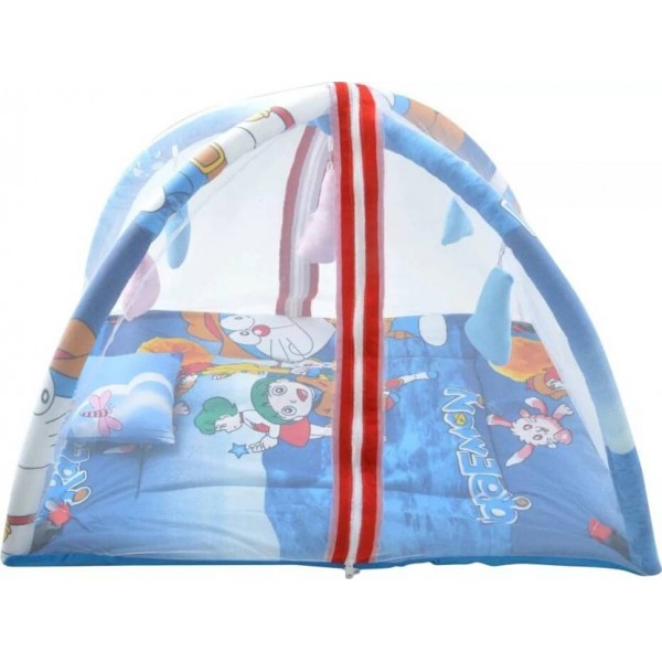 Feathers Infants Cribs Mosquito Net  (Multicolor)