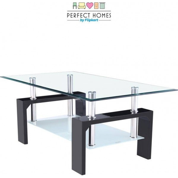 Perfect Homes by  Dorn Glass Coffee Table  (Finish Color - Glass)