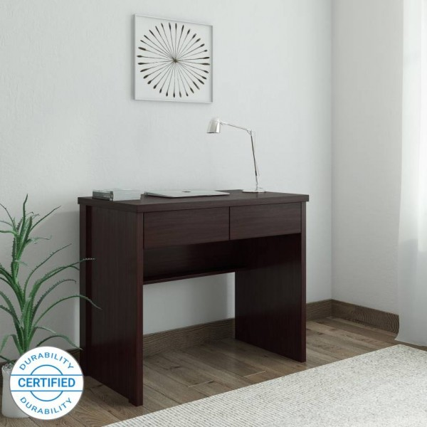 Perfect Homes by  Fermi Study Table  (Free Standing, Finish Color - Wenge)