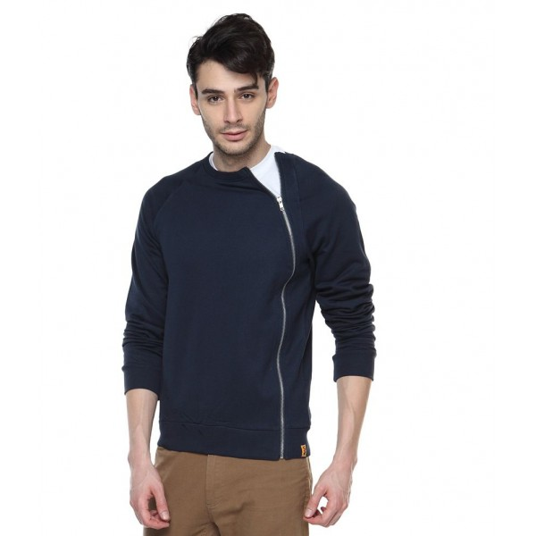 Campus Sutra Blue Casual Jacket