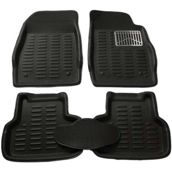 Typhon Polyutherine 3D Mat For Maruti Suzuki Swift  (Black)