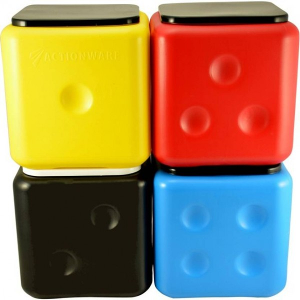 Action Ware Dice Stool ( 1 pc ) By Sarangware (Color may be very) Stool  (Multicolor)