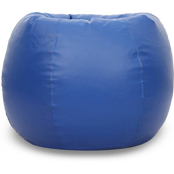 Springtek XXXL Bean Bag Cover (Without Beans)  (Blue)