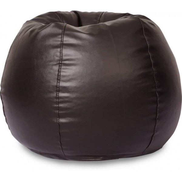 Springtek XL Bean Bag Cover (Without Beans)  (Brown)