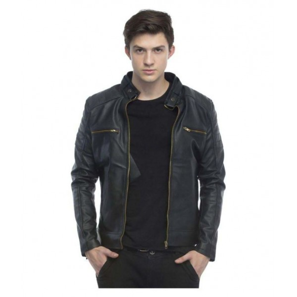 Blossom Trendz Black Leather Jacket