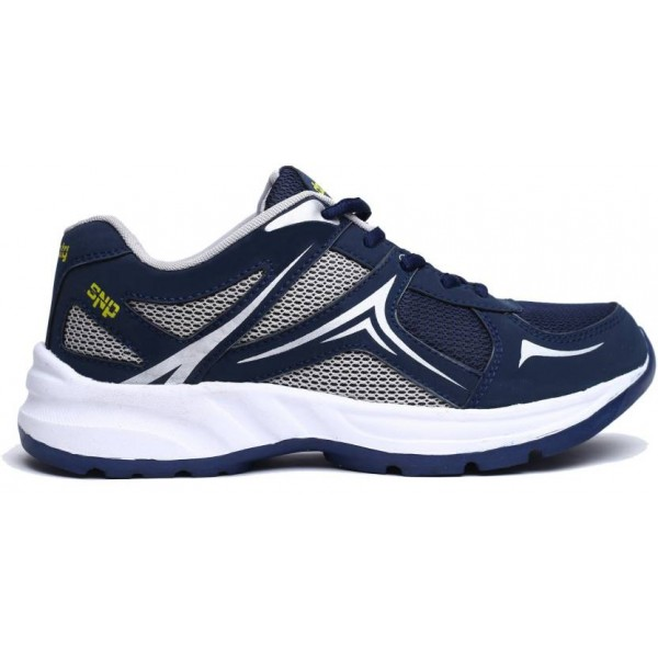 Mesha Density Running Shoes For Men  (Navy, White)