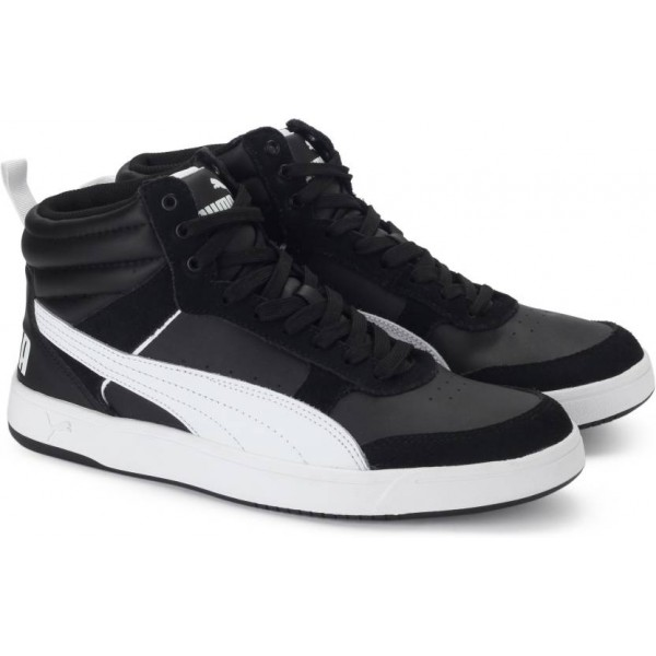 Puma Rebound Street v2 Sneakers For Men  (Black)