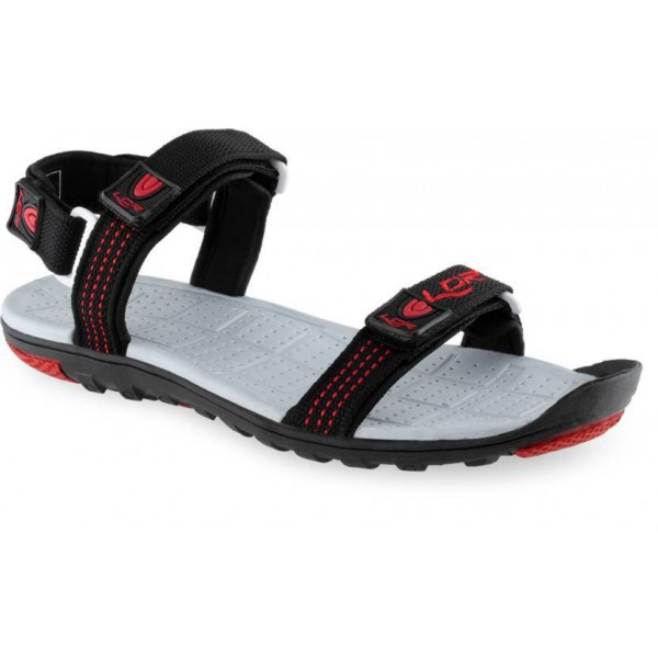 Lancer Men Black Sandals
