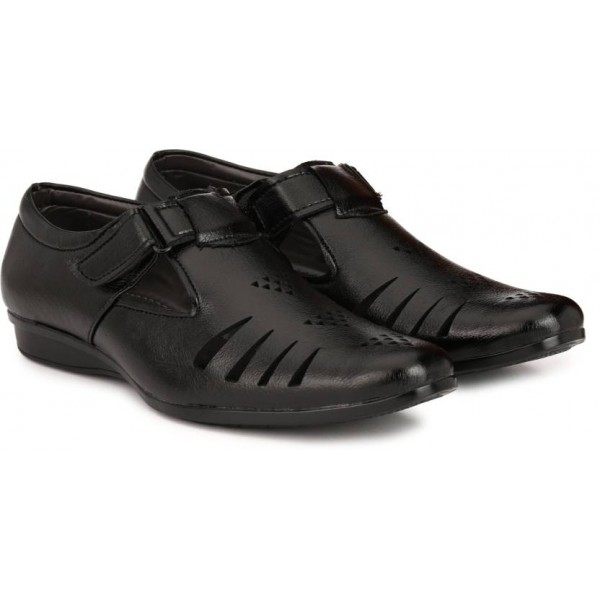 LAYASA Men BLACK Sandals