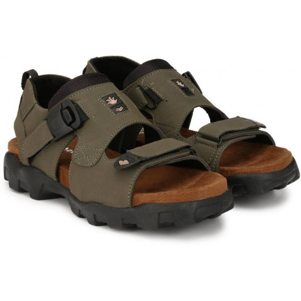 Shoegaro Men GREEN Sandals