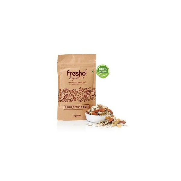 Fresho Signature Fruit, Seeds & Nuts Snacks - Dehydrated, 50 gm