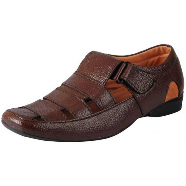 FAUSTO Men Brown Sandals