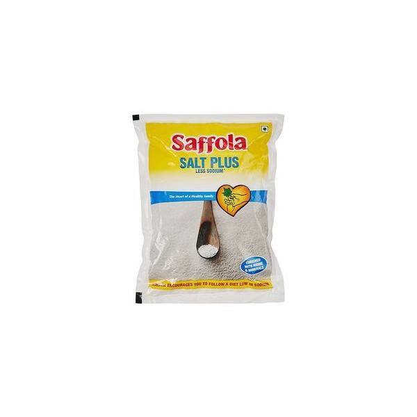 Saffola Salt - Less Sodium, 1 kg Pouch