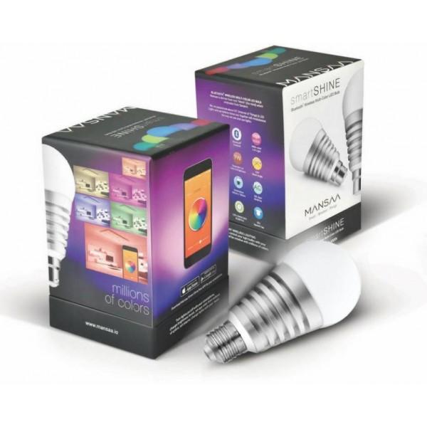 MANSAA SmartShine Bluetooth Wireless 9 Watt (E27 Holder) Smart Bulb