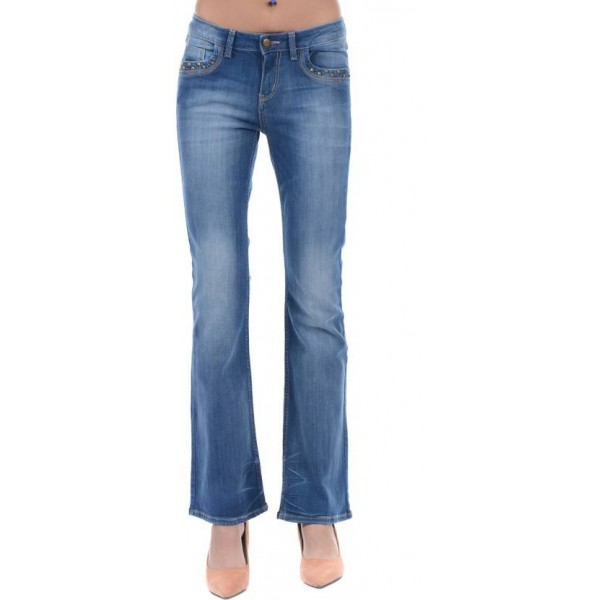 Ed Hardy Regular Women Blue Jeans