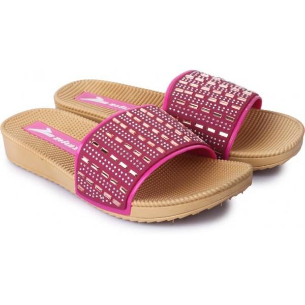 Adorn Women Pink Flats