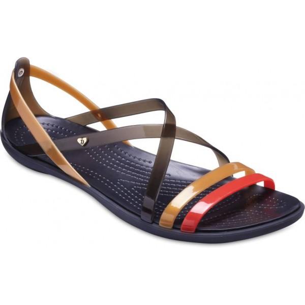 Crocs Women Black/Gold Flats