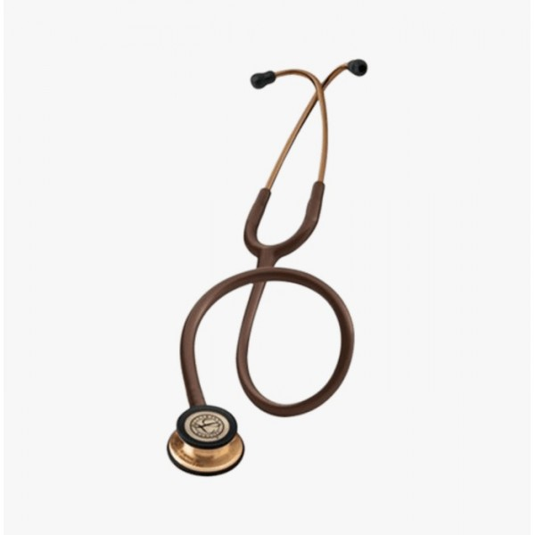3M Littmann Classic III Stethoscope, Copper-Finish Chestpiece, Chocolate Tube, 27 inch, 5809