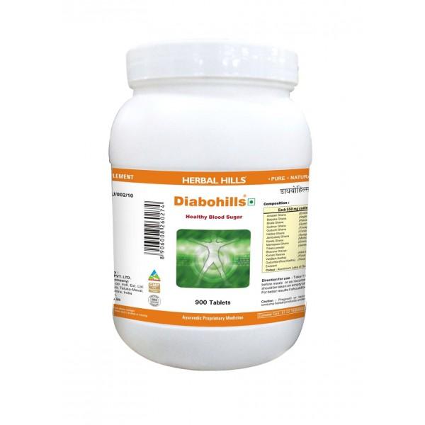 Herbal Hills Value Pack of Diabohills Tablet