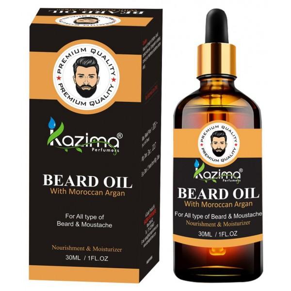 Kazima Moustache& Beard Oil With Argan 30 ml
