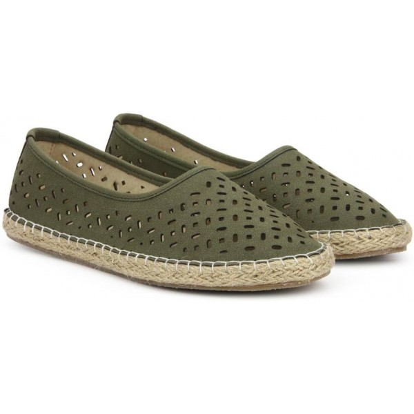 Bata TATIANA Espadrilles For Women  (Green)
