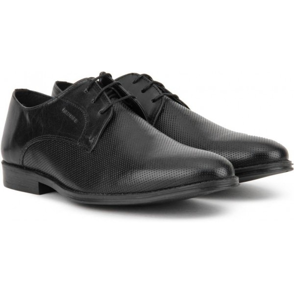 Red Tape Men Derby For Men  (Black)