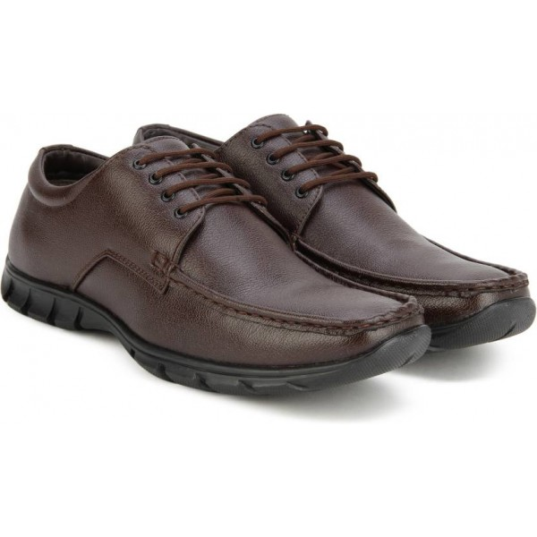 Bata REMO Lace Up Shoes For Men  (Brown)