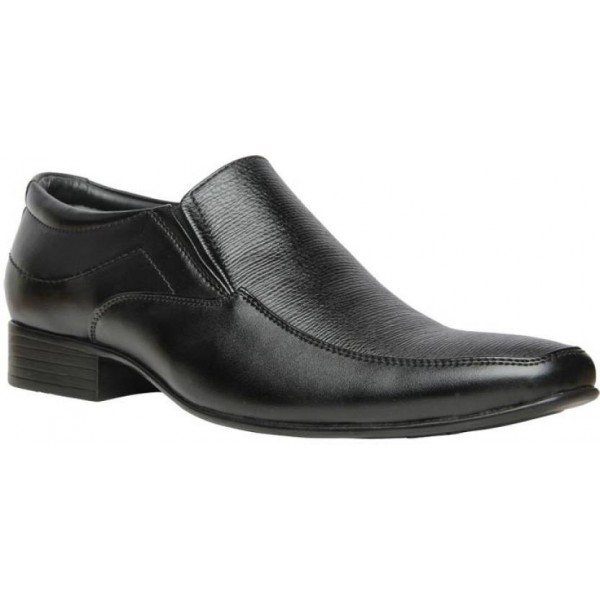 Bata Slip On For Men  (Black)