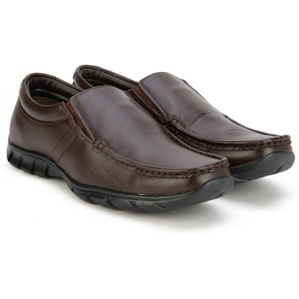 Bata REMO Slip On Shoes For Men  (Brown)