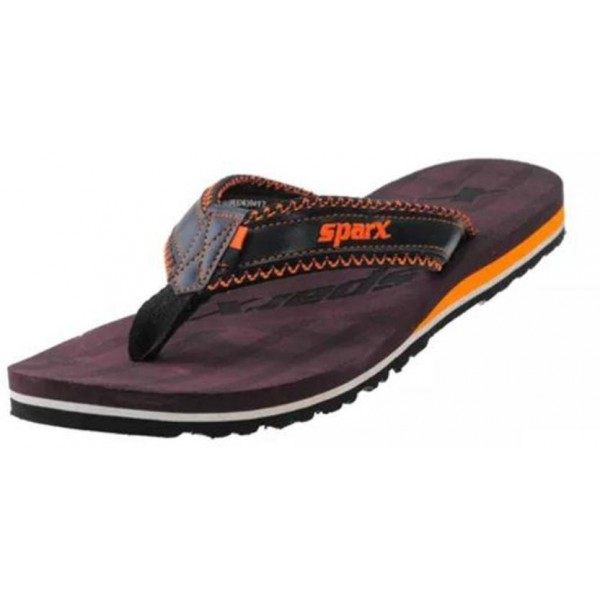 Sparx SFG 539 Black Brown Slippers
